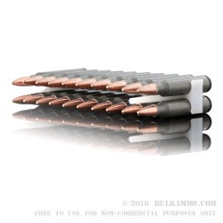 20 Rounds of .223 Ammo by Tula - 55gr FMJ