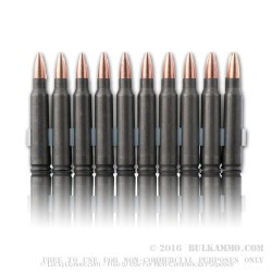 1000 Rounds of .223 Ammo by Tula - 62gr FMJ