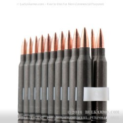 500 Rounds of .223 Ammo by Tula - 62gr FMJ