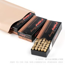300 Round Battle-Pack of 9mm Ammo by PMC - 115gr FMJ