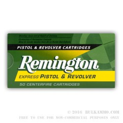 500  Rounds of .357 Mag Ammo by Remington - 125gr SJHP