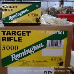 50 Rounds of .22 LR Ammo by Remington Eley - 40gr LRN