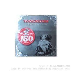 """25 Rounds of 12ga Ammo by Winchester 150 yr Commemorative- 3"""" 1 1/4 ounce #2 Shot"""