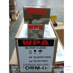750 Rounds of 5.45x39mm Ammo by Wolf - 55gr SP