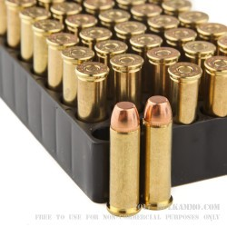 50 Rounds of .38 Spl Ammo by Magtech - 158gr FMJ