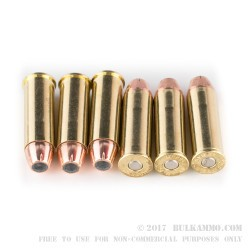 50 Rounds of .44 Mag Ammo by Fiocchi - 240gr JHP