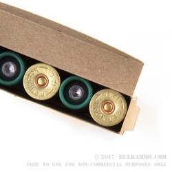 5 Rounds of 12ga Ammo by Remington - 7/8 ounce Rifled Slug