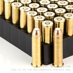50 Rounds of .357 Mag Ammo by Magtech - 125gr FMJ
