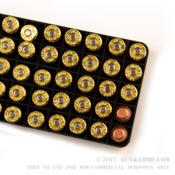 50 Rounds of .40 S&W Ammo by Blazer Brass - 165gr FMJ