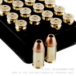 20 Rounds of .380 ACP Ammo by Corbon - 80gr DPX
