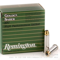 500  Rounds of .357 Mag Ammo by Remington - 125gr JHP