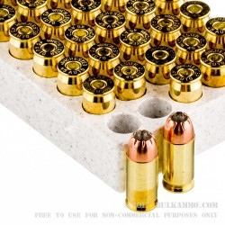 500  Rounds of .45 ACP Ammo by Winchester USA - 230gr JHP
