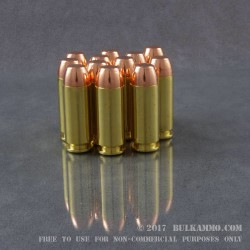 1000 Rounds of 10mm Ammo by MBI - New -  180gr FMJ
