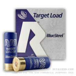 25 Rounds of 12ga Ammo by Rio Ammunition - 1 ounce #7 Shot (Steel)