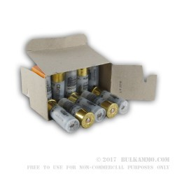 "10 Rounds of 12ga Ammo by Centurion -  .650"" Ball over #1 Buck"