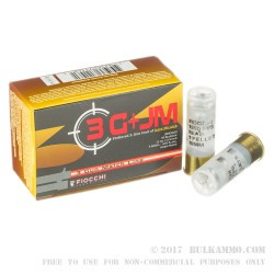 "10 Rounds of 12ga 2-3/4"" Ammo by Fiocchi 3 Gun - 9 Pellet 00 Buck"