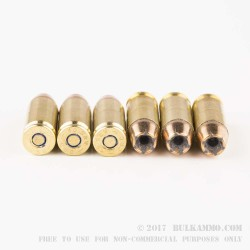 50 Rounds of .40 S&W Ammo by Magtech - 180gr Bonded JHP