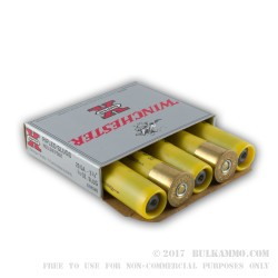 5 Rounds of 20ga Ammo by Winchester - 3/4 ounce Rifled Slug