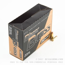 250 Rounds of .38 Spl Ammo by Blazer Brass - 125gr FMJ
