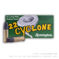 500  Rounds of .22 LR Ammo by Remington - 36gr LHP
