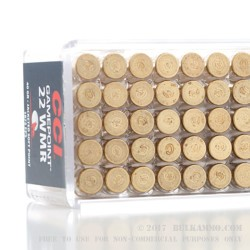 50 Rounds of .22 WMR Ammo by CCI Gamepoint - 40gr JSP