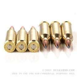 20 Rounds of .243 Win Ammo by Hornady American Whitetail - 100gr SP