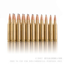 200 Rounds of .243 Win Ammo by Federal Power Shok - 80gr SP