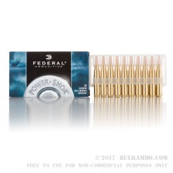 200 Rounds of .270 Win Ammo by Federal - 150gr SP
