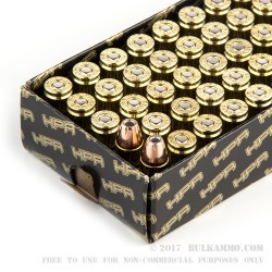 50 Rounds of 9mm Ammo by HPR - 115gr XTP