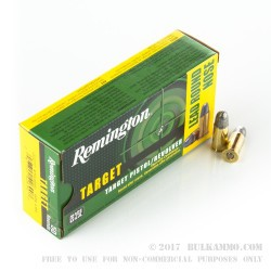 50 Rounds of .38 S&W Ammo by Remington - 146gr LRN