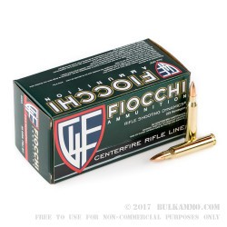 1000 Rounds of .223 Ammo by Fiocchi - 55gr FMJ