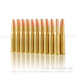 20 Rounds of 30-30 Win Ammo by PMC - 150gr SP Interlock