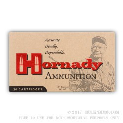 20 Rounds of 30-30 Win Ammo by Hornady - 150gr RN