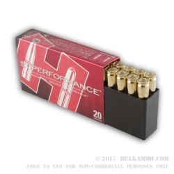 20 Rounds of .308 Win Ammo by Hornady - 165gr SST
