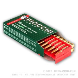 200 Rounds of .308 Win Ammo by Fiocchi - 165gr HPBT Sierra Game King