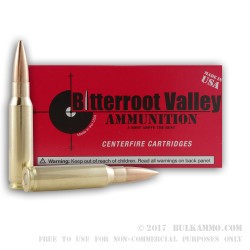20 Rounds of .308 Win New Ammo by BVAC - 168gr HPBT