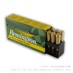 20 Rounds of .308 Win Ammo by Remington - 180gr SP