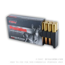 20 Rounds of .308 Win Ammo by PMC Precision - 168gr HPBT