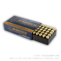 1000 Rounds of .32S&W  Ammo by Magtech - 85gr LRN