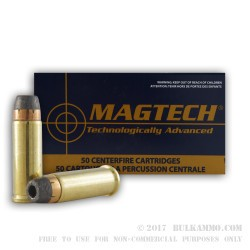 50 Rounds of .32S&W Long Ammo by Magtech - 98gr SJHP