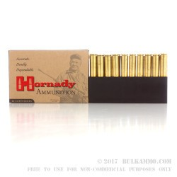 20 Rounds of .338 Lapua Ammo by Hornady - 285gr HPBT