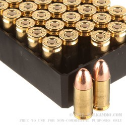 250 Rounds of 9mm Ammo by Remington - 115gr MC