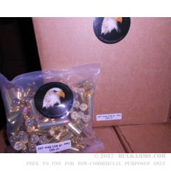 1000 Rounds of .357 Mag Ammo by MBI - New - 158gr FMJ