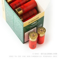 250 Rounds of 12ga Ammo by Sellier & Bellot - 1 ounce #7 1/2 shot