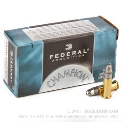 500  Rounds of .22 LR Ammo by Federal - 40gr LRN