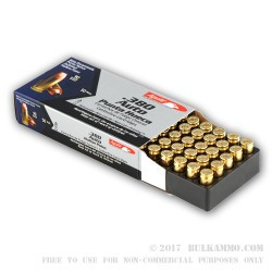 50 Rounds of .380 ACP Ammo by Aguila - 90gr JHP