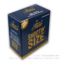 250 Rounds of .380 ACP Ammo by Magtech - 95gr FMJ