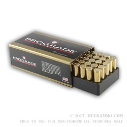500  Rounds of .38 Spl Ammo by ProGrade Ammunition - 125gr PFP