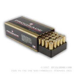 500  Rounds of .38 Spl Ammo by ProGrade Ammunition - 158gr PRN