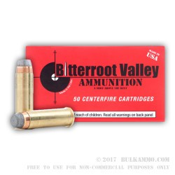50 Rounds of .38 Spl Ammo by BVAC - 158gr SJSP